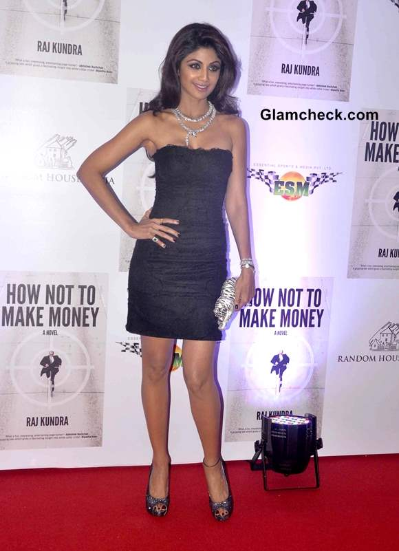 Shilpa Shetty in Dolce and Gabbana Dress 2013