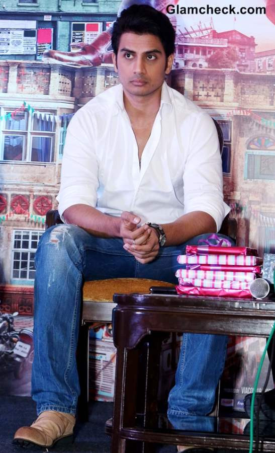 Shiv Pandit at  Boss Promotions in New Delhi