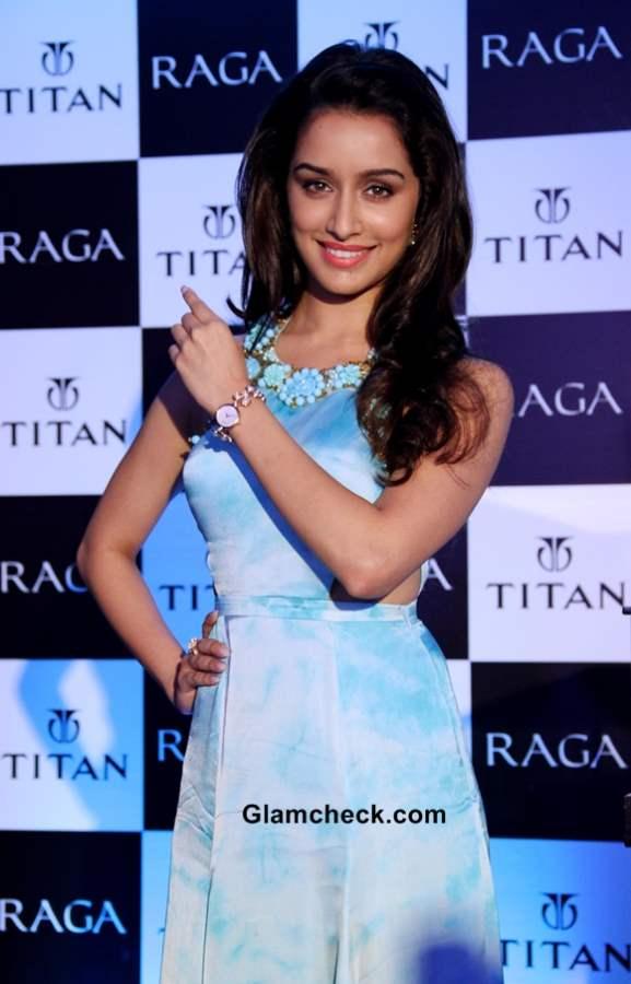 Shraddha Kapoor 2013 at Titan Raga Event