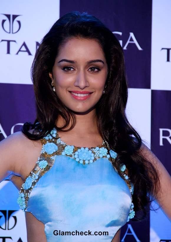 Shraddha Kapoor pics at Titan Raga Event