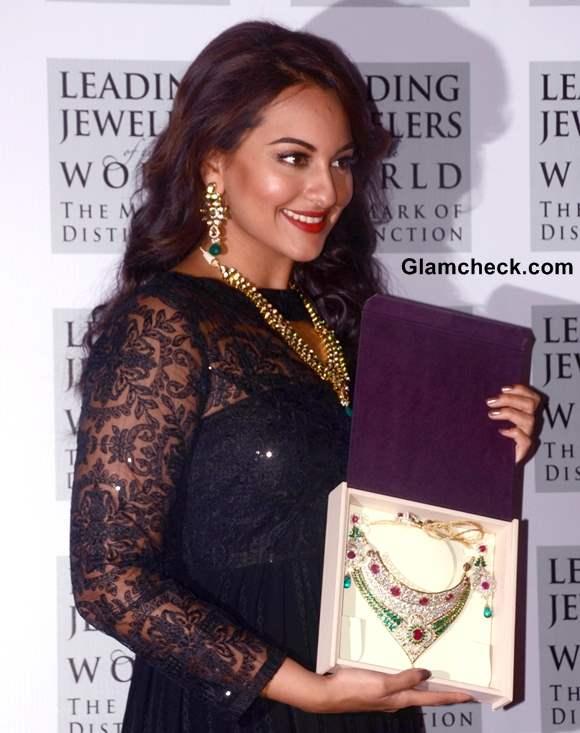 Sonakshi Sinha 2013 at  IIBS Inaugural Event