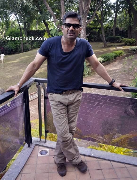 Suniel Shetty at Desi Kattey Muhurat Shot in Mumbai