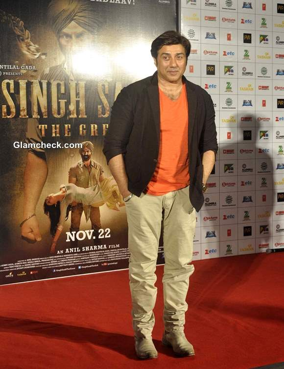 Sunny Deol at Singh Saab The Great Music and Trailer Launch in Mumbai