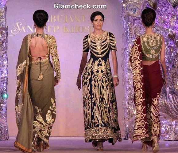 The Golden Peacock 2013 collection by Abu Jani and Sandeep Khosla