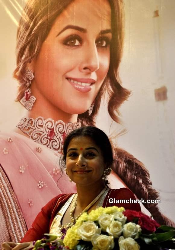 Vidya Balan Inaugurates Ranka Jewellers Store