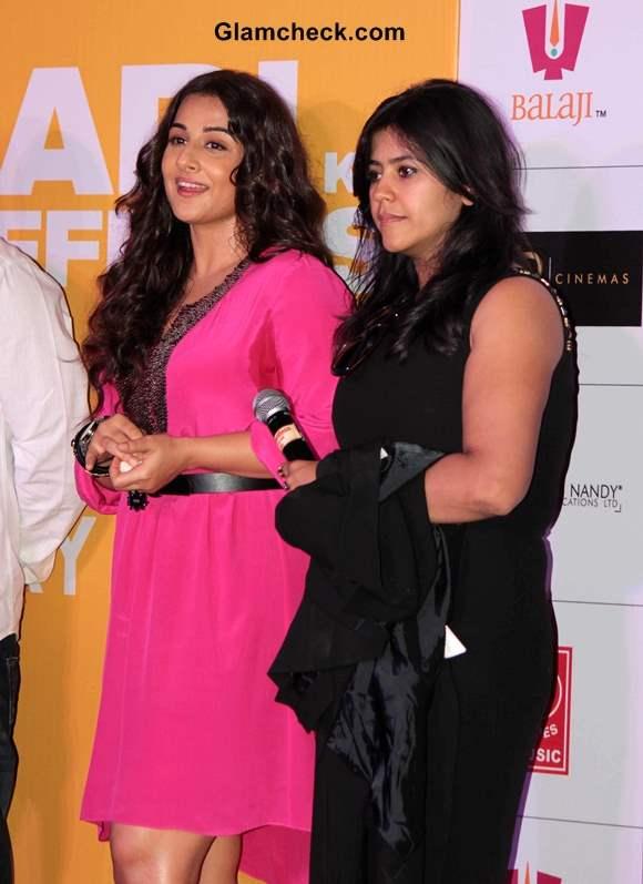 Vidya Balan and Ekta Kapoor Launch Shaadi Ke Side Effects Trailer
