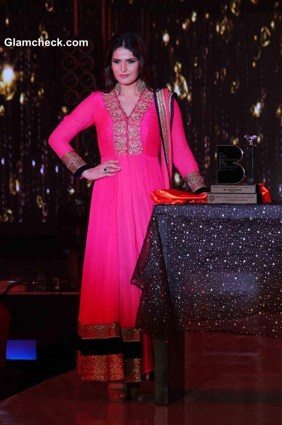 Zarine Khan 2013 at the 1st Bullion and Jewellery Awards