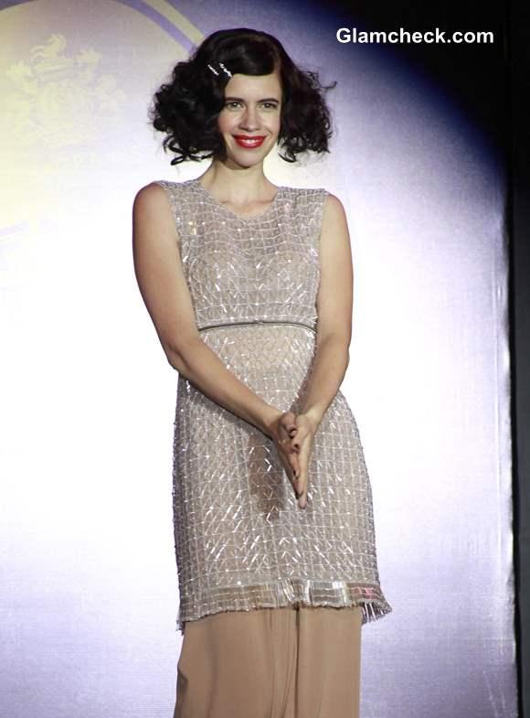 2013  Blenders Pride Fashion Tour Mumbai Kalki Koechlin Walks for Neeta and Nishka Lulla