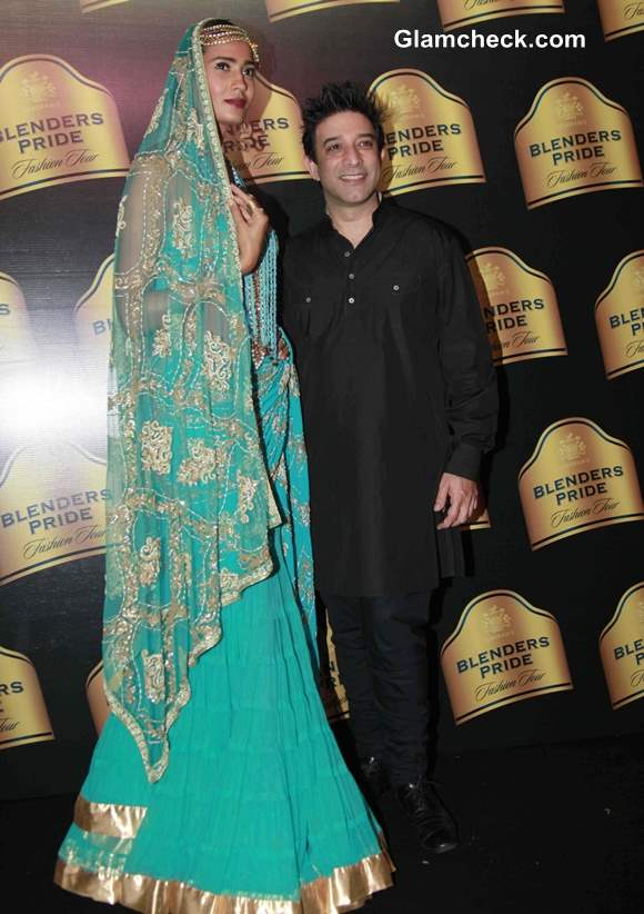 2013 Blenders Pride Fashion Tour Suneet Varma (2)