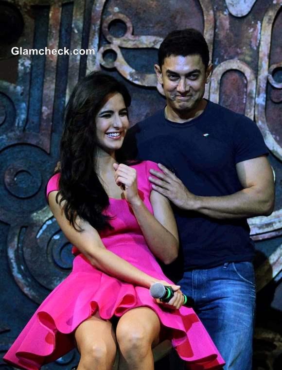 Aamir Khan and Katrina Kaif Launch Dhoom 3 Title Song in Mumbai