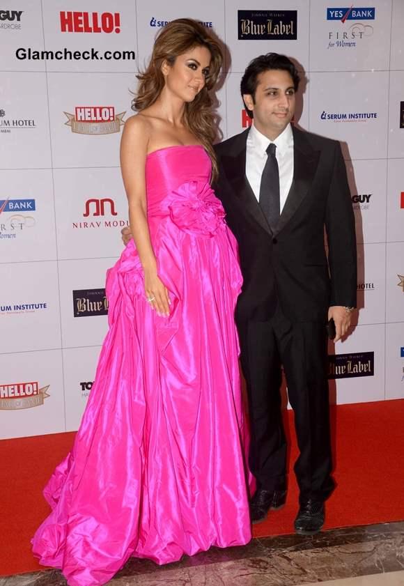 Adar Poonawala with wife Natasha Poonawala