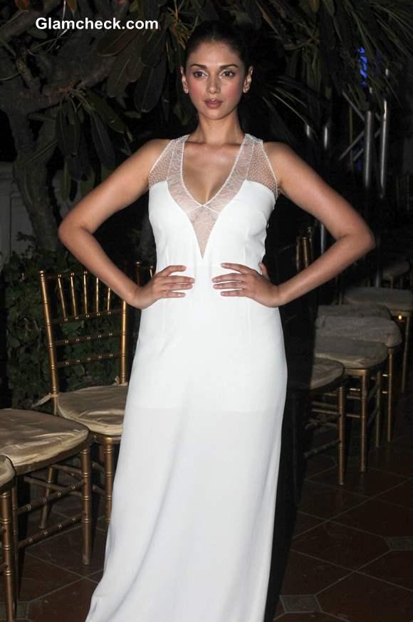 Aditi Rao Hydari  at 2013 Spanish Fashion Show