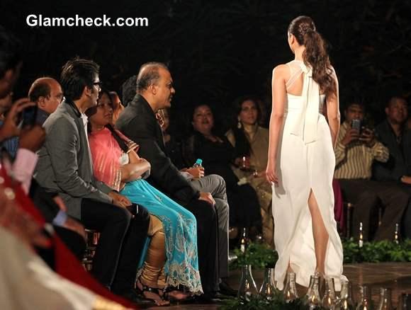 Aditi Rao Hydari  at Spanish Fashion Show 2013