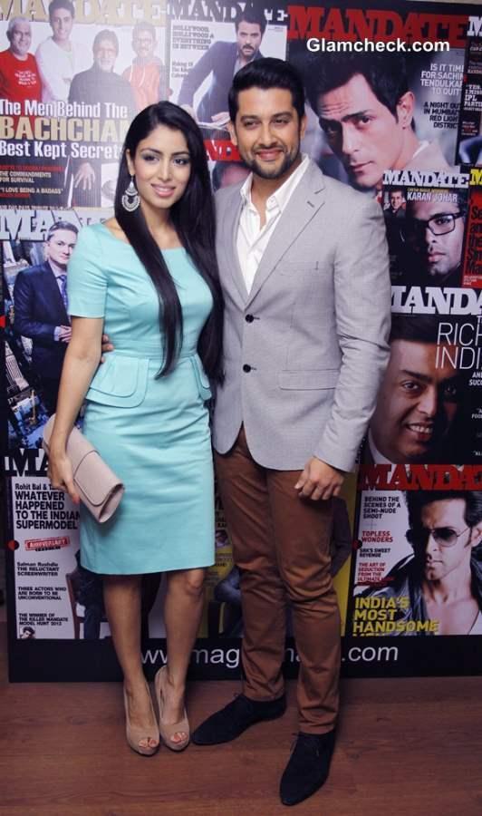 Aftab Shivdasani with his girlfriend Nin Dusanj