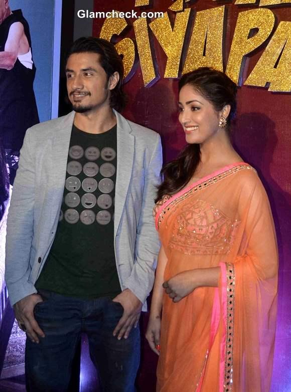 Ali Zafar and Yami Gautam Unveil Total Siyappa Trailer in Mumbai