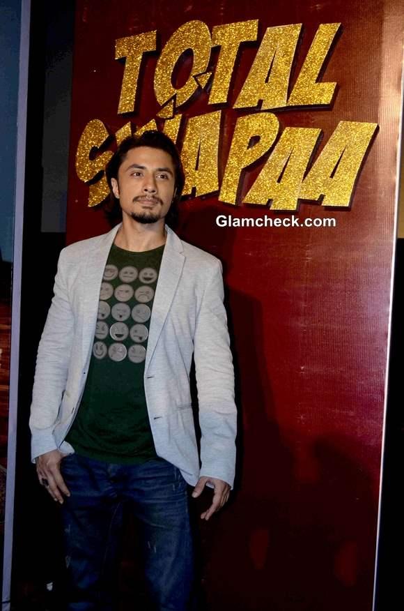 Ali Zafar at Total Siyappa Trailer Release