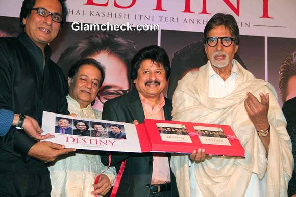 Amitabh Bachchan Launches Ghazal Album Destiny in Mumbai