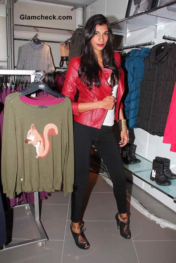 Anushka Manchanda at New Marks and Spencer Store Launch in Mumbai