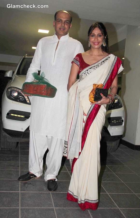 Ashutosh Gowariker at Aamir Khan Diwali Party