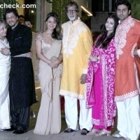 Bachchan Diwali Party 2013