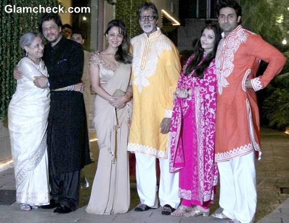 Bachchan Diwali Party 2013