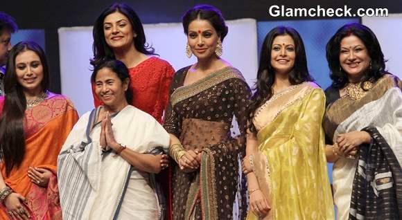 Bengali Beauties Felicitated at Kolkata International Film Festival 2013