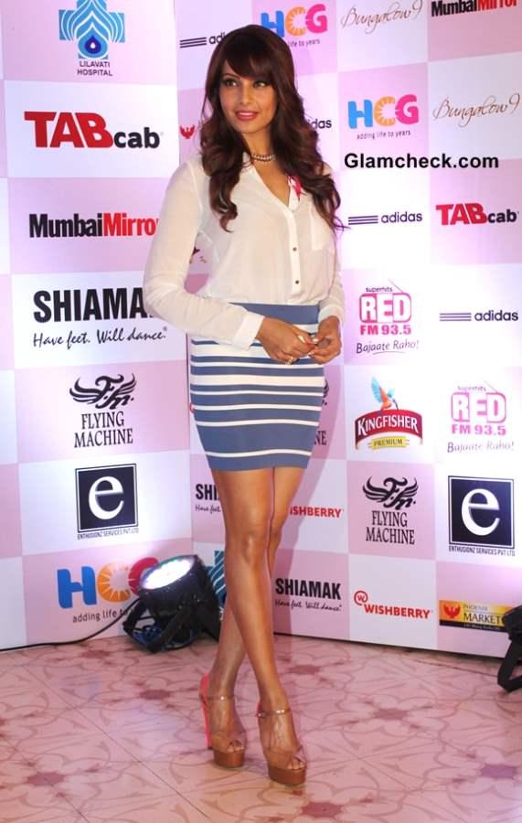 Bipasha Basu stylish for Breast Cancer Awareness