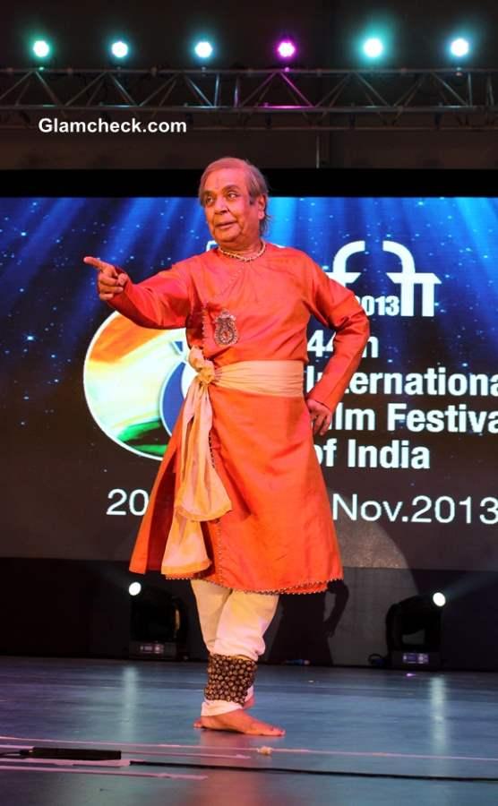 Birju Maharaj at 44th International Film Festival in Goa
