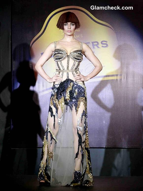 Blenders Pride Fashion Tour 2013 Kangana Ranaut Show stopper for Gavin Miguel