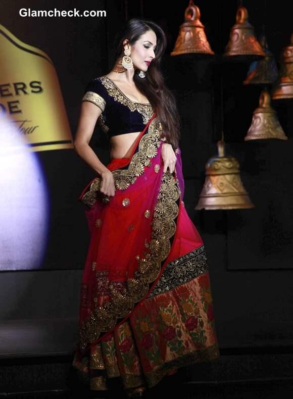 Blenders Pride Fashion Tour 2013 Malaika Arora Khan for Vikram Phadnis