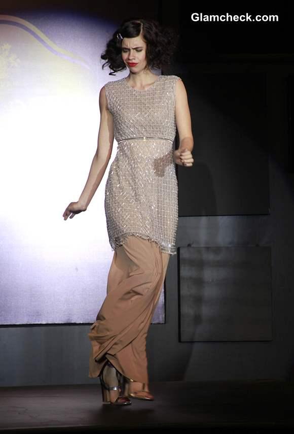 Blenders Pride Fashion Tour 2013 Mumbai Kalki Koechlin Walks for Neeta Nishka Lulla