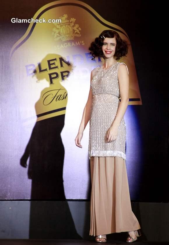 Blenders Pride Fashion Tour 2013 Mumbai Kalki Koechlin Walks for Neeta and Nishka Lulla