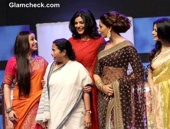 Bollywood Bengali Beauties Felicitated at Kolkata International Film Festival 2013