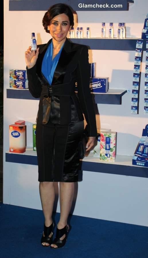 Business outfit Karisma Kapoor