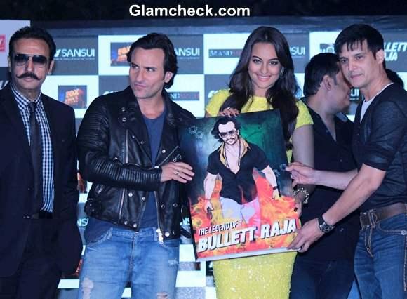 Cast of Bullet Raja Launch Music of Film in Mumbai