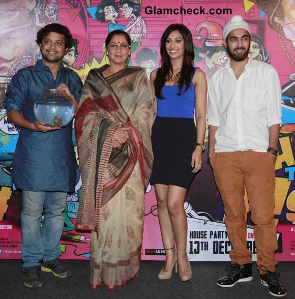 Cast of What the Fish Launch Trailer in Mumbai