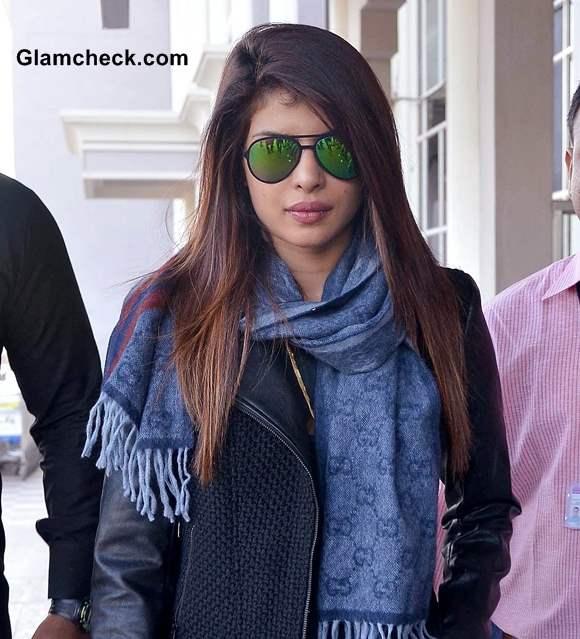 Celebrity Airport Style - Priyanka Chopra at Jodhpur Airport