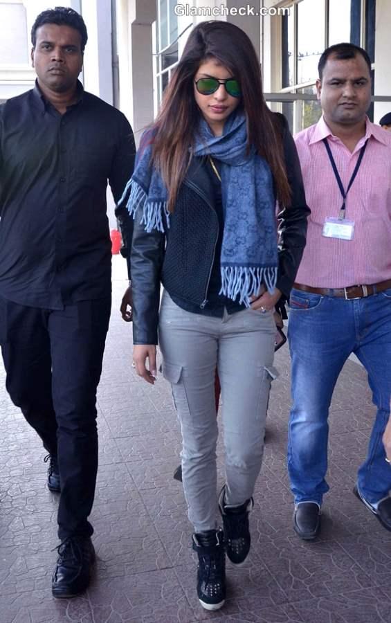 Celebrity Airport Style Priyanka Chopra