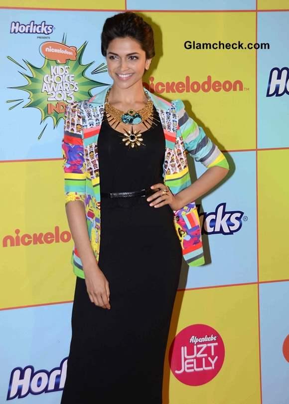 Deepika Padukone 2013 Nickelodeon Kids Choice Awards