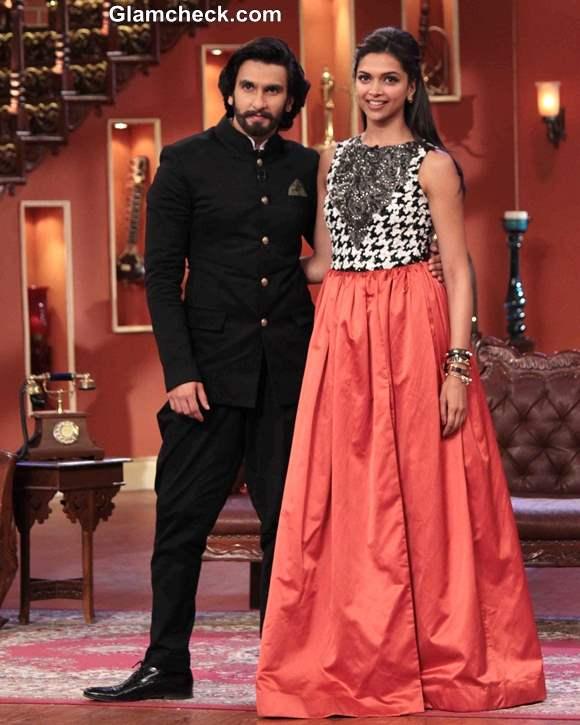 Deepika Padukone Ranveer Singh on Comedy Nights with Kapil