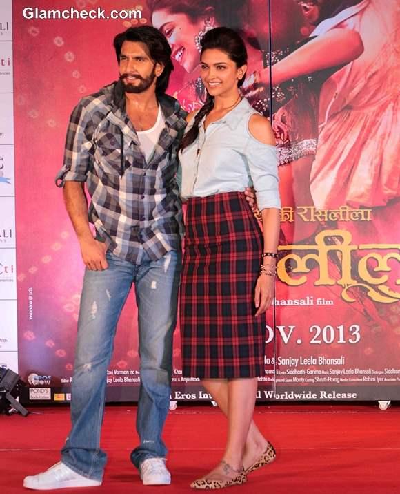 Deepika Padukone Ranveer Singh promote Ram-Leela