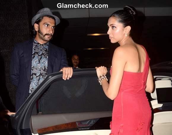 Deepika Padukone and Ranveer Singh at 2013 Hello Magazine Awards