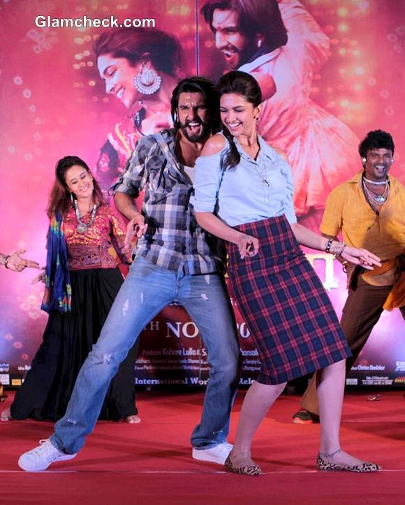Deepika Padukone and Ranveer Singh promote Ram-Leela