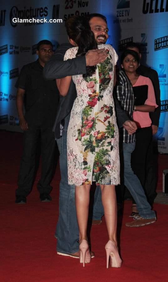 Deepika Padukone at Chennai Express Success with Zee TV