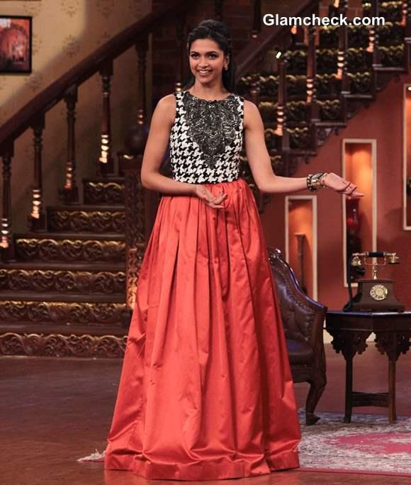 Deepika Padukone in Atsu Sekhose Outfit 2013