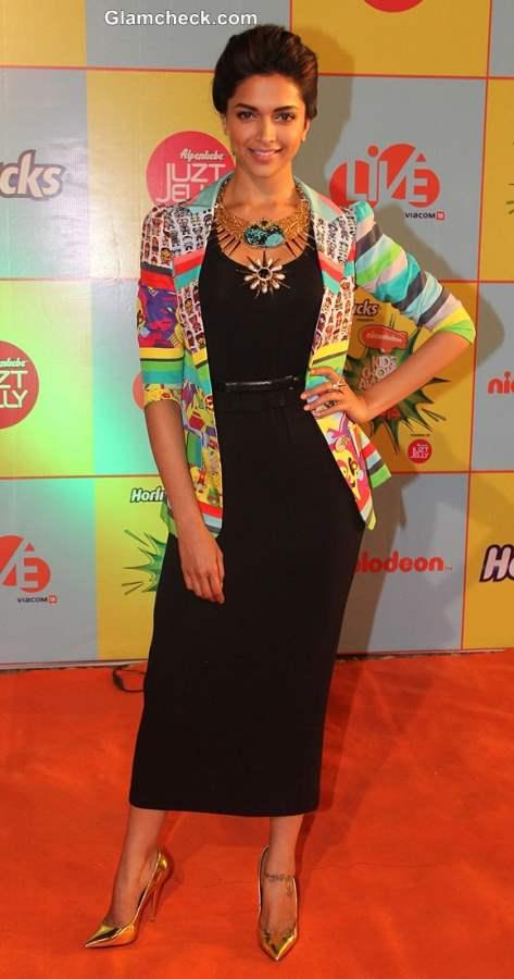 Deepika Paduone at Nickelodeon Kids Choice Awards 2013