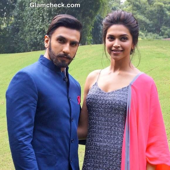 Deepika Ranveer Promote Ram-Leela in New Delhi