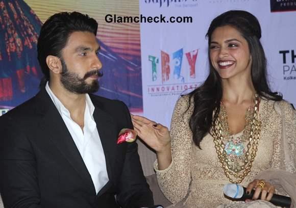 Deepika Ranveer Ram-Leela Promotions