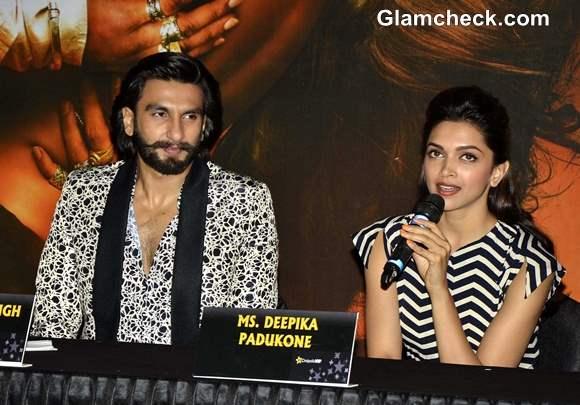 Deepika and Ranveer Pics at Cinepolis in Pune