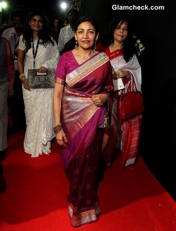 Deepti Naval at 44th International Film Festival in Goa